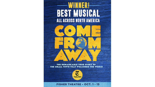 Come From Away Ticket Giveaway Rules