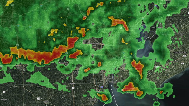 Metro Detroit severe thunderstorm watches expire