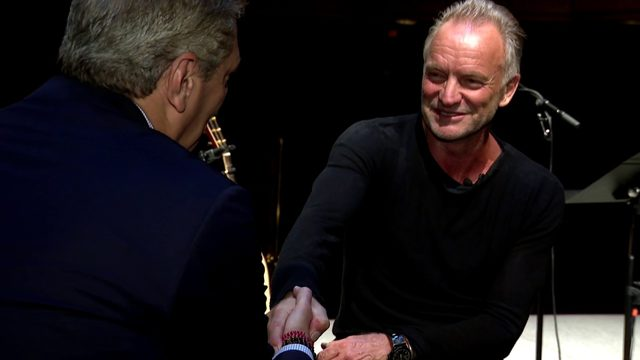 FULL INTERVIEW: Devin Scillian sits down with legendary musician Sting