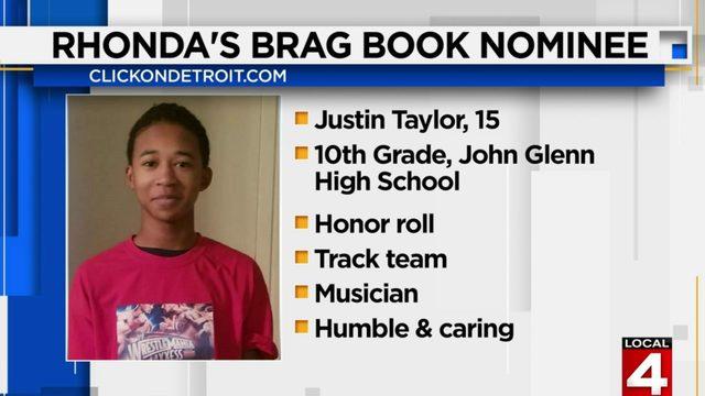 Rhonda's Brag Book: Justin Taylor