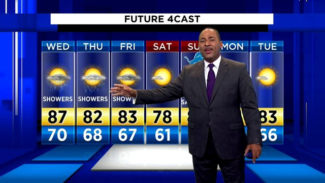 Metro Detroit weather: More thunderstorms, heat on the way