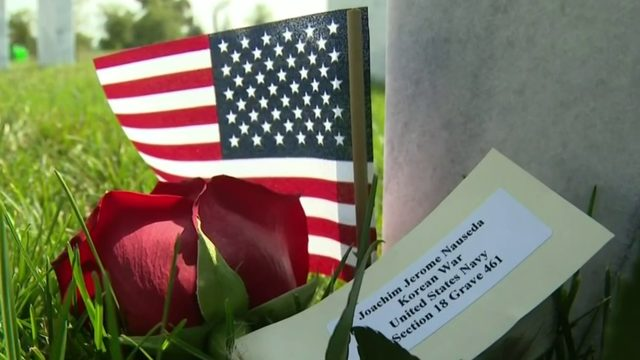 14 fallen veterans with no family members honored at ceremony on 9/11 in Holly
