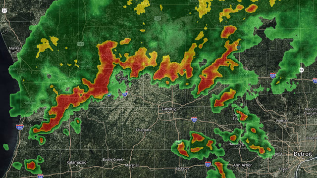 Tornado warning issued for parts of western Michigan
