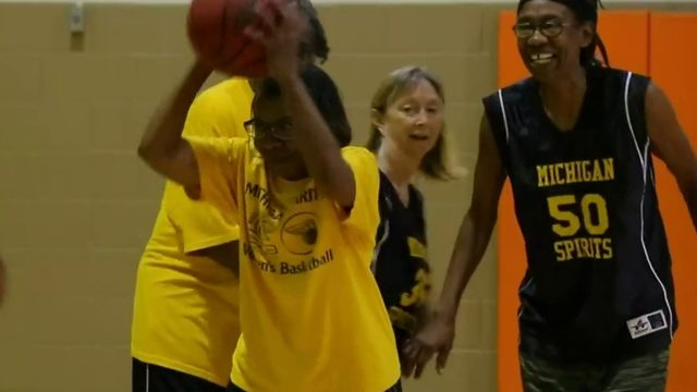 Grannies with game: Senior hoops team gets serious on the court