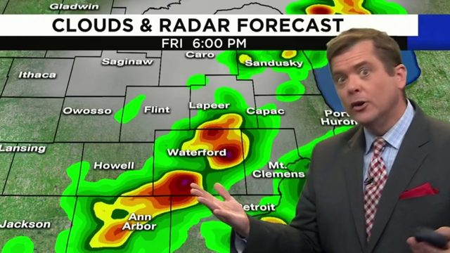 Metro Detroit weather: Risk for severe storms this afternoon, evening