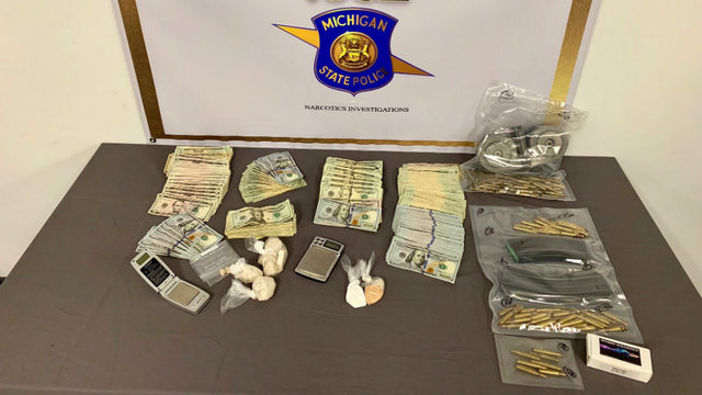 Macomb County authorities seize cash, heroin, fentanyl, other drugs in Detroit