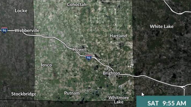 Flood warning issued for Livingston County