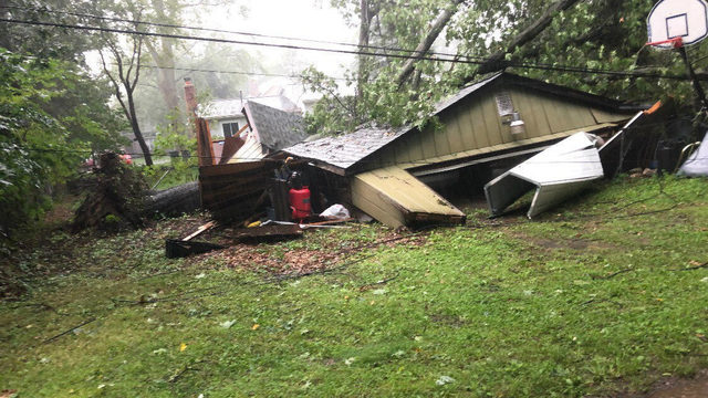 Photos show damage caused by Friday night's storms in Metro Detroit