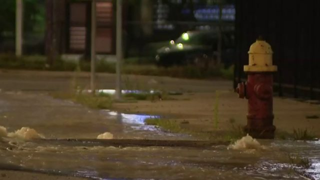 Water main break reported in Downtown Detroit