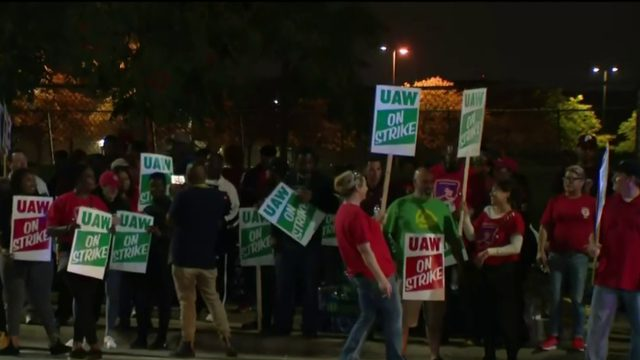 UAW members go on strike following negotiation breakdown
