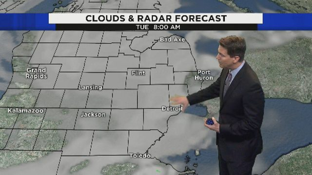 Metro Detroit weather: Humid Monday night; foggy Tuesday morning
