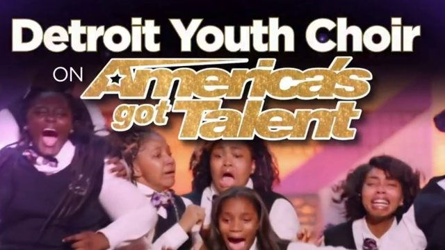 Detroit Youth Choir to perform in 'America's Got Talent' finals Tuesday