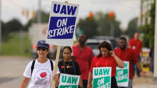 UAW-GM strike: 50,000 union workers walk off jobs across country