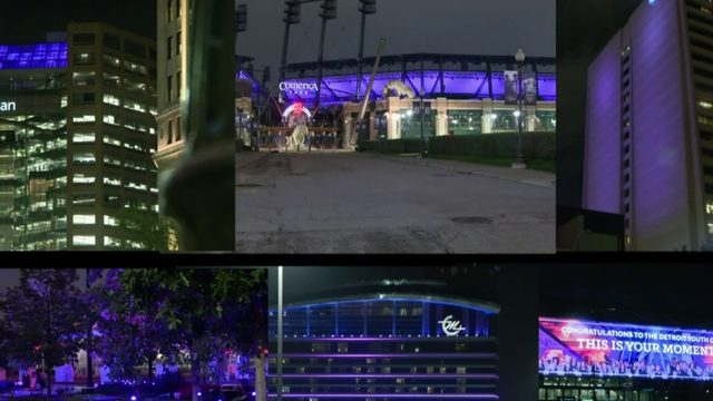 City goes purple for Detroit Youth Choir