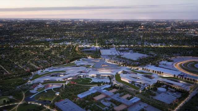 Ford unveils expanded plan for Dearborn campus
