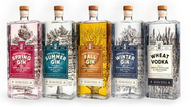 Ann Arbor Distilling Co. unveiling rebranded Arbor Season Gin on Friday