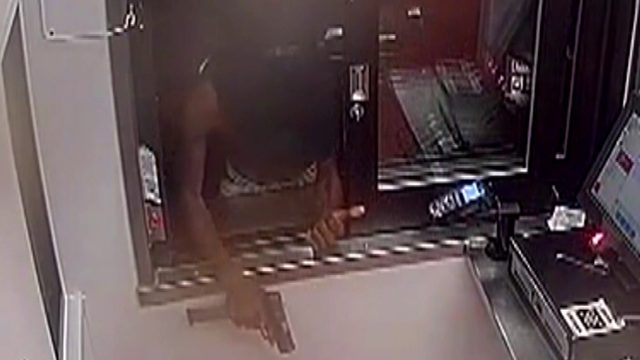 Detroit police looking to ID suspect in drive-thru window armed robbery