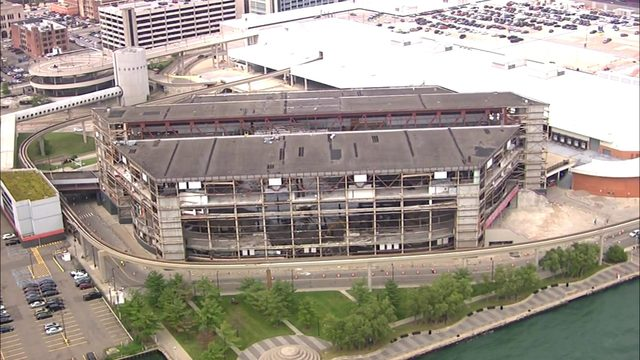 Here's what Joe Louis Arena demo looks like