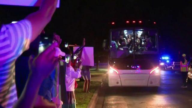 WATCH: Detroit Youth Choir returns home after 'AGT' final