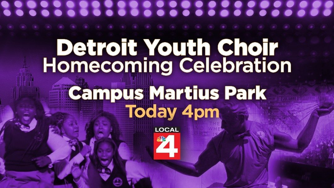 WATCH LIVE: Detroit Youth Choir homecoming celebration