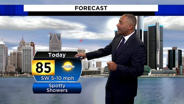 Metro Detroit weather forecast: Very warm Saturday to round out summer's…