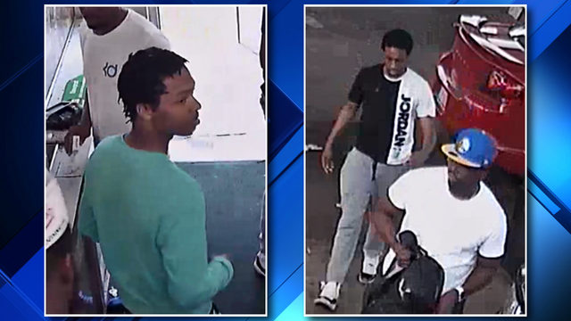 VIDEO: Police seek 4 men after bystander wounded at Detroit gas station shooting