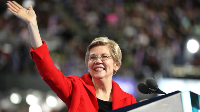 WATCH LIVE: Elizabeth Warren joins striking GM workers Sunday in Detroit