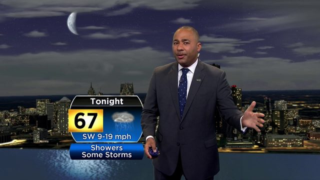 Metro Detroit weather forecast: Wet weather arriving, Sunday night