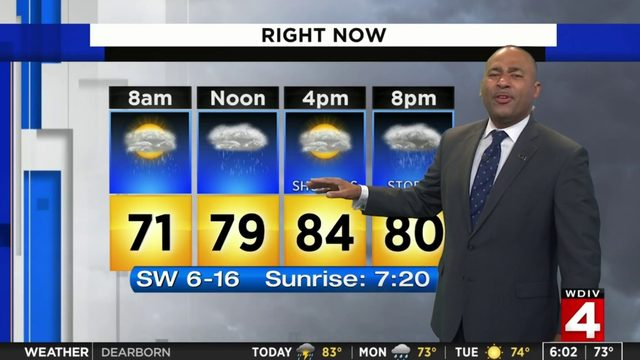 Metro Detroit weather forecast: Rain picking up Sunday evening, night