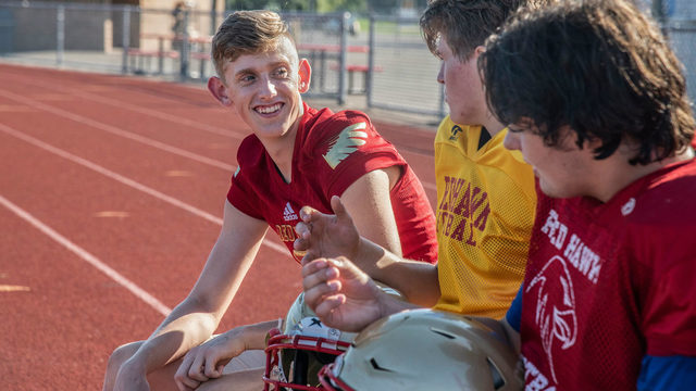 Troy Athens High School football player's lung collapses during first…
