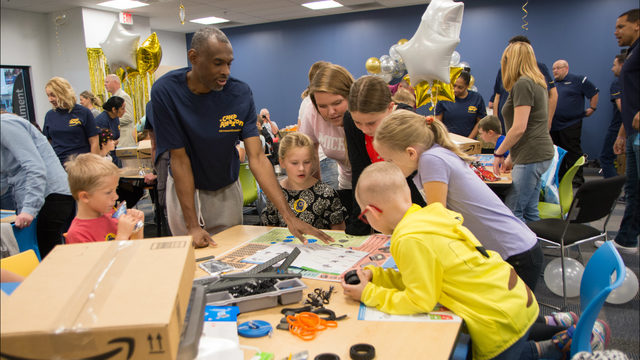 Amazon hosts 'Camp Amazon' day for C.S. Mott Children's patients,…
