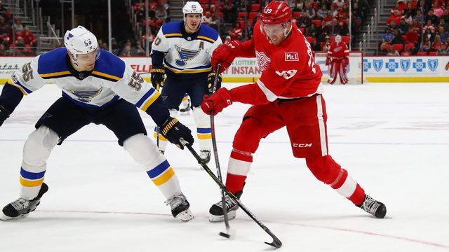 Red Wings vs. Blues in Kraft Hockeyville preseason game: Time, TV, score updates