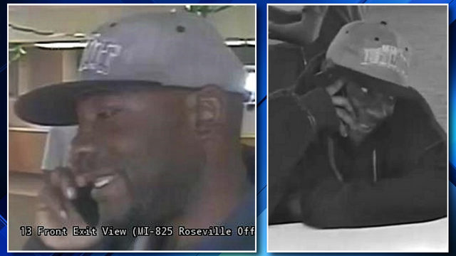 VIDEO: Police seek public assistance in identifying Roseville bank thief