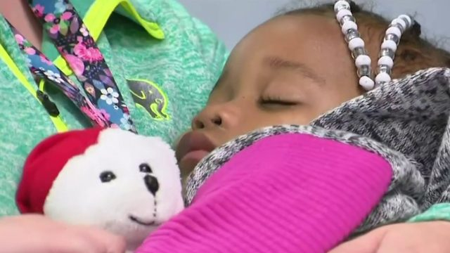 Mother speaks out after 2-year-old girl found wandering Detroit