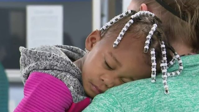 Parents claim toddler found wandering alone in Detroit