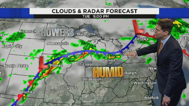 Metro Detroit weather: Summer-like storms, near-record heat, possible flooding