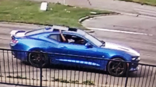 Detroit police seek driver who hit patrol car with Camaro, fled scene