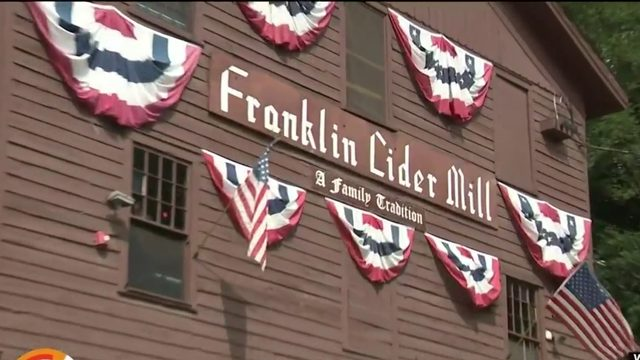 Here's why you should make the historic Franklin Cider Mill part of your…