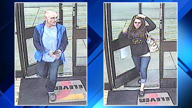 Man, woman accused of stealing from 7-Eleven in Macomb Township