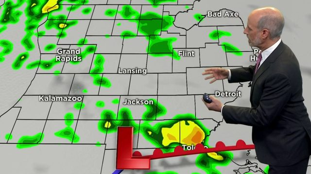 Metro Detroit weather: Scattered thunderstorm chances today