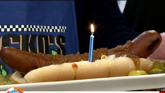Tony Packo's surprises Jason Carr for his Birthday