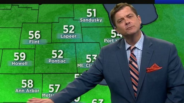 Metro Detroit weather: Rainy today -- what to expect for Friday, weekend