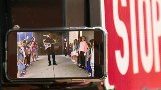Sterling Heights police team up with students for safety music video