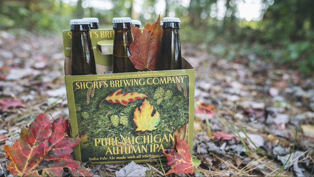 Get a taste of fall in a bottle with this Pure Michigan Autumn IPA