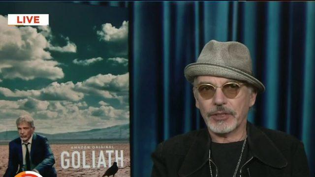 """Academy award winner Billy Bob Thornton talks about the return of """"Goliath"""""""