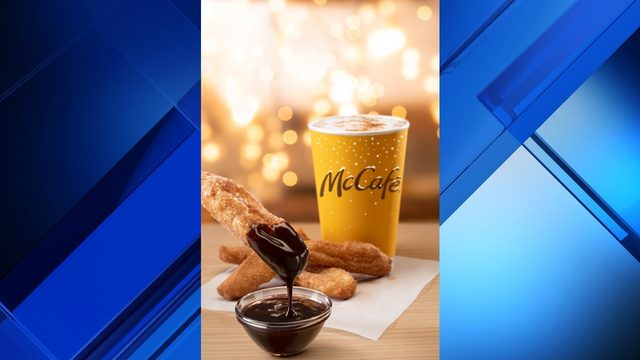 McDonald's premieres cinnamon cookie latte, brings back donut sticks