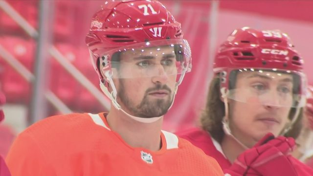 Dylan Larkin ready for Red Wings opener this weekend