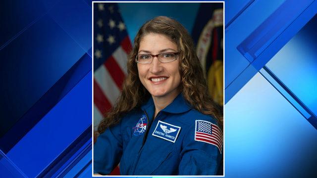 Michigan native slated to participate in NASA's first all-female spacewalk