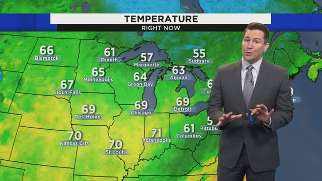 Metro Detroit weather: Sunny forecast as rain holds off until weekend