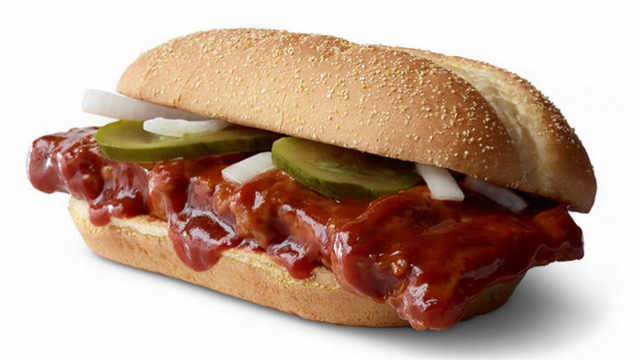 The McRib is back! Find the nearest participating McDonald's location here
